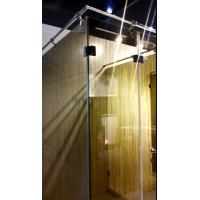 Best Fabric Lamination Glass Panels for Shower Partition , 10 - 13mm Thickness wholesale