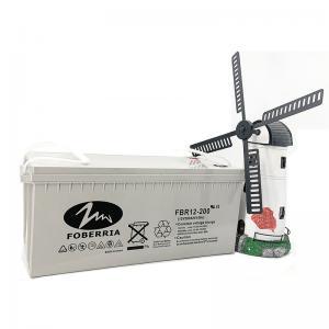 Best FBR Maintenance Free AGM UPS Battery Solar Valve Regulated Lead Acid Battery wholesale