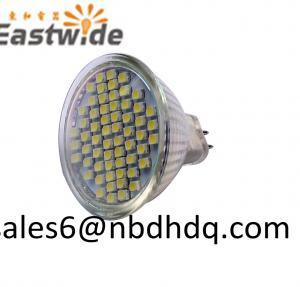 China MR11 GU5.3 12V 3.5W Epistar 60pcs 2835SMD LED Glass Gap with Glass Cover on sale