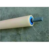 Best Energy Saving Return Small Idler Rollers For Belt Conveyor With Blue Cover wholesale