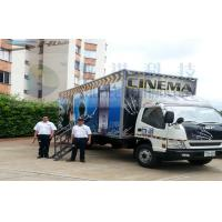 Best Columbia Mobile 5D Cinema , Exiciting Car Cinema Snow Simulation wholesale