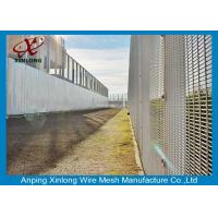 Best Professional Hot Dipped Galvanized Welded Mesh Security Fencing For Protection 2.0m Height wholesale