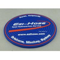 Best Customized Soft PVC Coaster With Logo Printing Diameter 9cm Pantone Chart wholesale