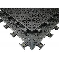 Impact And Abrasion Resistant Outdoor Sports Flooring Anti Ultraviolet Radiation