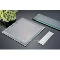 Buy cheap custom cut safety glass fine edge grinding technology fine edge grinding from wholesalers