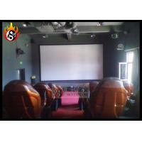 Best Inflatable Cinema Theater 5D Movie Theater Equipment With Flat Screen wholesale