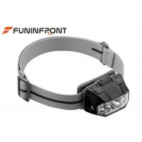 Best 3 AAA Powered Outdoor LED Headlamp , 5 Gears Touch Sensor LED Bicycle Headlight wholesale