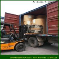 China Affordable Price Pe Coated Paper OEM ODM Art Coated Paper on sale