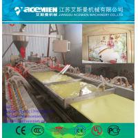 Best 300mm laminated pvc wall panel/board making machine/production/extrusion line wholesale