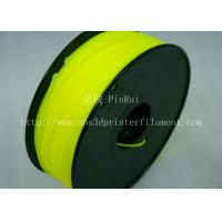 Cheap Yellow HIPS 3d Printer Filament 1.75 , material for 3d printing Markerbot , for sale