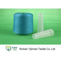 Best 100 Percent Dyed Polyester Yarn With Staple Fibre Material For Sewing / Knitting Socks wholesale