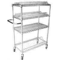 Best Conductive Reel  Industrial Wire Shelving With Wheels Electroplate Surface Treatment wholesale