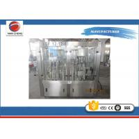 Commercial PET Bottle Auto Water Filling Machine 12000bph PLC Control Touch Screen