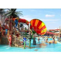 Best Super Whirlwind Water Slide Aqua Fiberglass Theme Park Equipment wholesale
