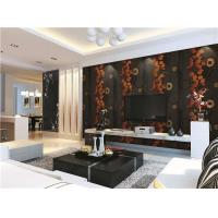 Cheap 70cm width high quality waterproof mould proof modern styles PVC vinyl wallpaper for sale