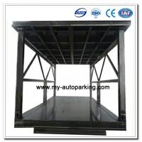 China Scissor Type Pit Lifter Double Deck Hydraulic Car Parking System / Car Stacker/ Double Stack Parking System on sale