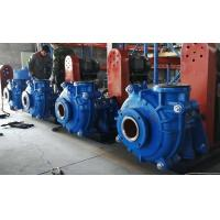 Best 6 / 4 D AH Heavy Duty Slurry Pump Single Casing Hard Metal High Chrome Alloy for High Density Slurries wholesale
