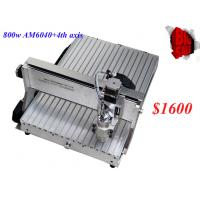 Best CNC 6040CH80 4 axis engraving machine with 1.5KW spindle for engraving metal,woods,6040 C wholesale