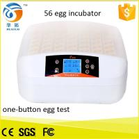 Cheap Top selling newly design full automatic mini egg incubator hatching 56 eggs for for sale
