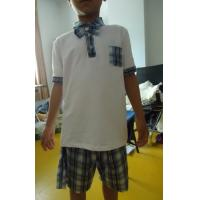 Best Short Sleeve Childrens School Uniforms , Boy 2 Piece Boys School Uniforms wholesale