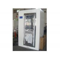 Best 2 Person Electronic Cleanroom Three Side Blowing Dust Air Shower Channel wholesale