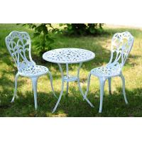 Buy cheap 3 Pieces All Weather Outdoor Patio Cast Aluminum Garden Sets Furniture from wholesalers