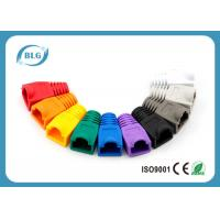 China RoHS Network Cable Accessories RJ45 Plug Boots for Cat5e 8P8C RJ45 Male Plugs on sale