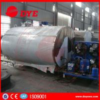 Best Fermentation Tank Milk Cooling Tank With Refrigeration System wholesale