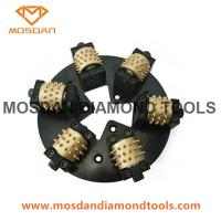 Best 6 Rollers 270mm Bush Hammer Plate for HTC wholesale