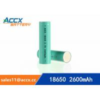 Best 18650 3.7v 2600mAh lithium rechargeable battery for power bank, LED light,electric torch wholesale