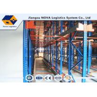 Best Remote Control Shelves Radio Shuttle Storage , Shuttle Warehouse Drive In Racking wholesale