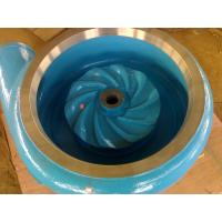 Best Abrasion Resistance Slurry Pump Parts For Tailing Handling / Coal Washing / Mining wholesale