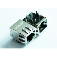 China ARJ11E-MCSD-A-B-FM2 Rj45 Modular Jack Solder RA Thru-Hole 8 Terminal 1 Port on sale
