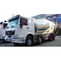 Best 16cbm 8x4 Sinotruk HOWO Concrete Mixer Truck Red White Color 20-60 Ton CCC Passed wholesale