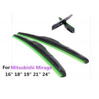 Mitsubishi Mirage Car Windscreen Wipers Blades With Dedicated Interface