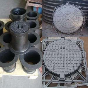 Best Heavy Duty Cast Iron Manhole Cover Valve Accessories For Construction En124 Standard wholesale