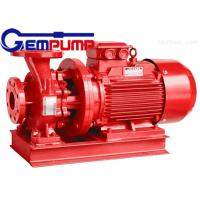Best ISW Horizontal Pipe Inline Water Booster Pump Red Color 10~125 m Head wholesale