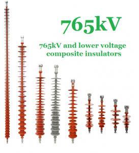 765 kV Composite Polymer Insulator , IEC Standard Transmission Line Insulators
