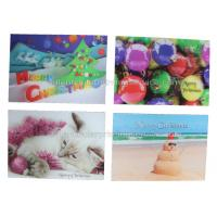 Best CMYK Offset Custom Lenticular Printing Cards 100% Recyclable UV Printing wholesale