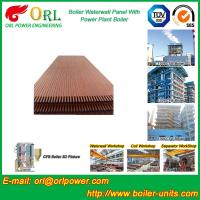 Best Solid Fuel Boiler Water Wall Tubes , High Temperature Water Wall In Boiler wholesale