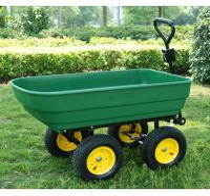 Best dump cart TC4253 Dumping Warenkorbgar den tool cart garde Werkzeugwagen wheelbarrow wholesale