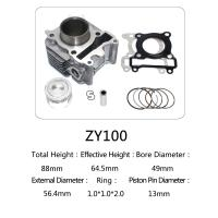 Best Yamaha Motorcycle Cylinder Repair Kit ZY100 For Yamaha Jog 100 Scooter wholesale