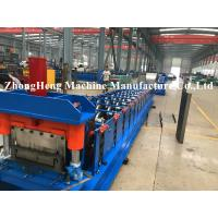 Quality 11kw Stand Seaming Roofing Roll Forming Machine With Electric Seaming Machine For 1mm Thickness Cold Steel wholesale