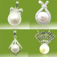 Best 925 Sterling Silver Pearl Jewelry Pendant (PSF1048) wholesale