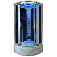 Cheap High End Steam Shower Tub Combo Hydromassage Shower Cabin With Gray Door Glass for sale