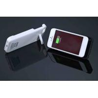 Best Lightweight White IPhone 5 External Battery Case Portable For Protecting Battery wholesale