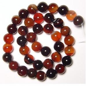 Best Semi Precious Gem Beads, Natural Gemstone Agate Beads, Round Carnelian Agate Beads wholesale