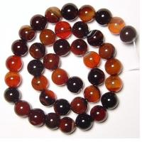 Best Semi Precious Gem Beads, Natural Gemstone Agate Beads, Round Carnelian Agate Beads wholesale