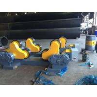Best 60 Ton Loading Capacity Tank Turning Rolls Drive By 4KW Motor Power For Automatic Welding wholesale