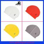 Best colorful cheap latex swim cap wholesale